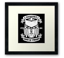 Legend Of Cybertron - Ratchet Framed Print