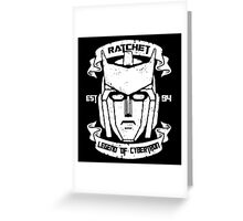 Legend Of Cybertron - Ratchet Greeting Card