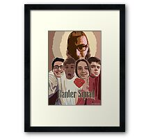 GTA Banter Squad Framed Print