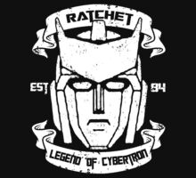 Legend Of Cybertron - Ratchet by Vitalitee