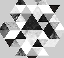 Graphic 202 Black and White by Mareike Böhmer