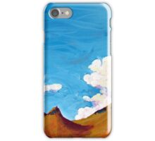 clouds and hills iPhone Case/Skin