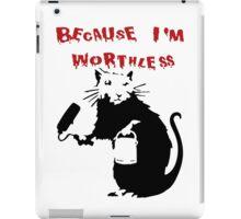Banksy Rat iPad Case/Skin