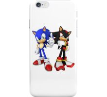 Sonic and Shadow - Sonic the Hedgehog iPhone Case/Skin
