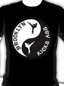 BROOKLYN KICK ASS YING YANG T-Shirt