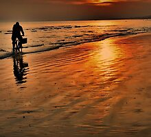 Sunset Beach Ride by SussexScenictys