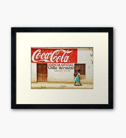 WHERE EVER YOU ARE... Framed Print