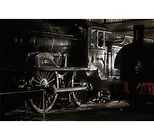 The Last Class D49, Morayshire. Photographic Print