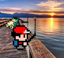 Gone Fishing with Ash Ketchum by slr06002