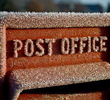 British Postbox by Wendy Skinner