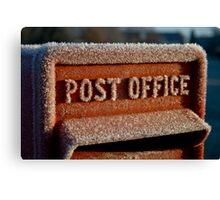 British Postbox Canvas Print