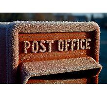 British Postbox Photographic Print