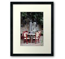 La Osteria Framed Print