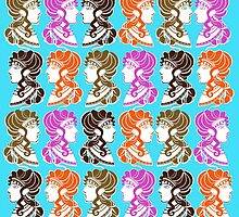Minoan Ladies by TotalBabyCakes
