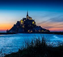 Mont St Michel by mlphoto