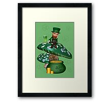 Where is My Pot of Gold Framed Print