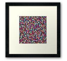 Encrusted With Sprinkles Framed Print