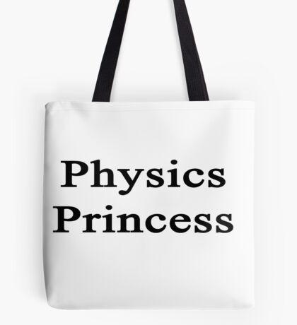 Physics Princess  Tote Bag