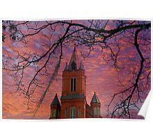 St. Landry Catholic Church: Opelousas, Louisiana Poster