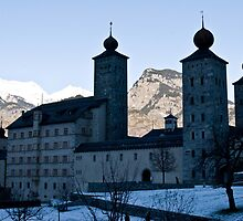Palace of Stockalper Brig - Swiss by GOSIA GRZYBEK