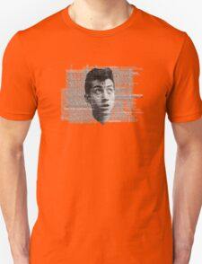 Alex Turner Face Typography Unisex T-Shirt