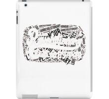 Revolution Graffiti Black iPad Case/Skin