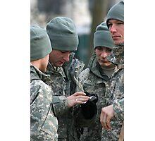 Army Guys Photographic Print