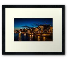 River Seine Framed Print