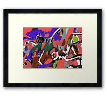 Sodom and Gomorrah Framed Print