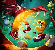 Rayman Legends - Dragon by ghoststorm