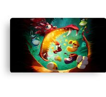 Rayman Legends - Dragon Canvas Print