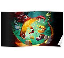 Rayman Legends - Dragon Poster
