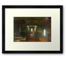 Train Bits 8 Framed Print