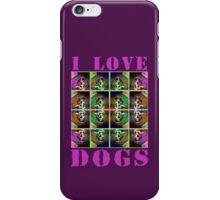 I Love Dogs iPhone Case/Skin