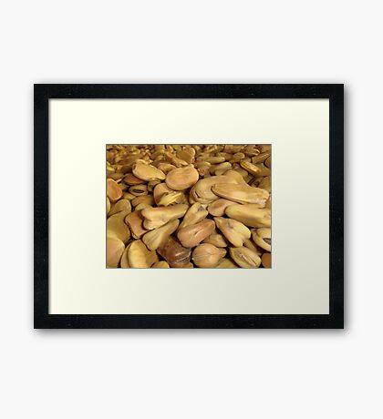 Beans Framed Print