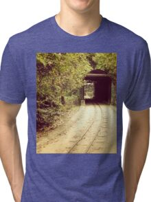 Tunnel & track Tri-blend T-Shirt