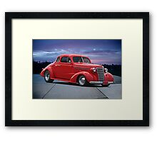 1938 Chevrolet Coupe Framed Print