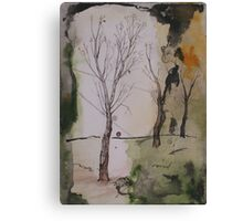 when winter ends Canvas Print