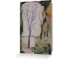when winter ends Greeting Card
