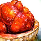 Delicious ..Strawberry Tart by  Janis Zroback
