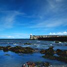 Burnmouth Harbour 2 by WatscapePhoto