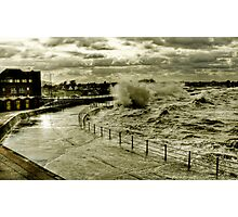 Rough Sea At Minnis Photographic Print