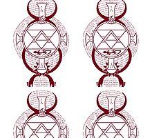 Fullmetal Alchemist Brotherhood Flame Alchemy  by Dalyz