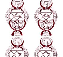 Fullmetal Alchemist Brotherhood Flame Alchemy  by Michael Daly