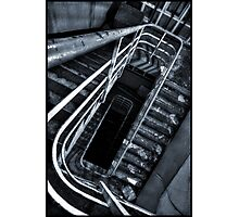 Spiraling into the unknown Photographic Print