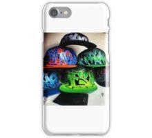 Custom Graffit Hats iPhone Case/Skin
