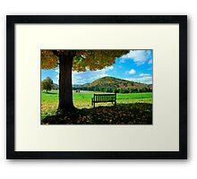 Fall Plains Framed Print