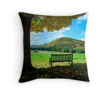 Fall Plains Throw Pillow