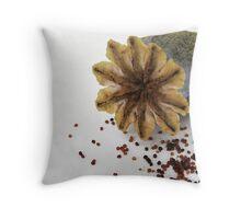 Shedding seeds.... Throw Pillow