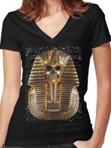 Undead Pharaoh Women's Fitted V-Neck T-Shirt